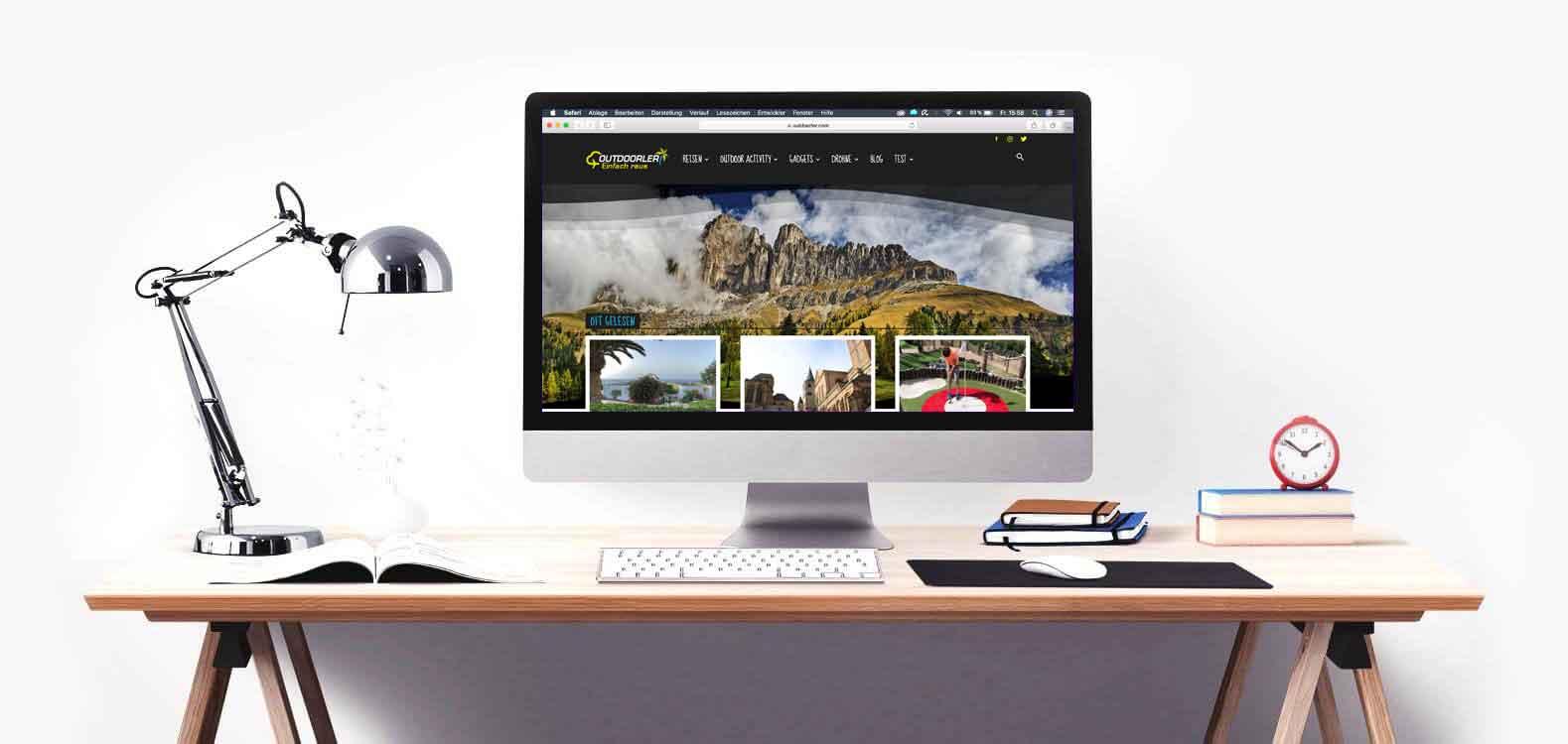 Outdoor Blog-Marketing - Ausrüstung Hotel Fremdenzimmer Pension Ferienwohnung - Rezension - Testbericht und Erfahrungsbericht