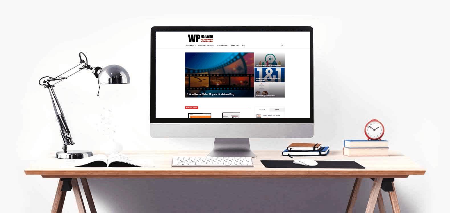 WP-Magazine - WordPress - WordPress-Hosting Blog-Marketing